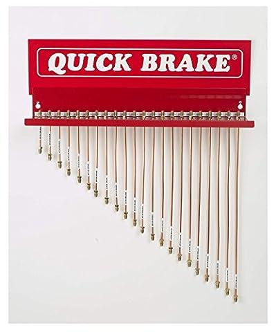 QUICK BRAKE Universal Bremsleitung F-Bördel Kupfer-Nickel 0450 A-A 450 mm KOMPLETT