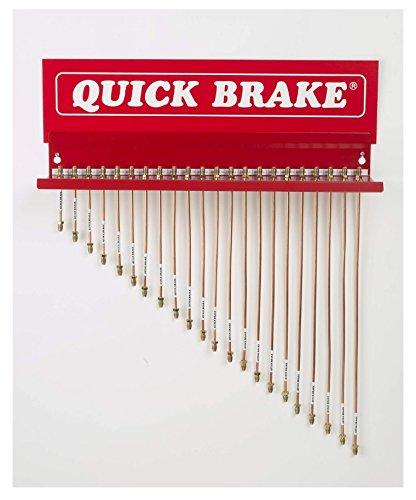 Preisvergleich Produktbild QUICK BRAKE Universal Bremsleitung F-Bördel Kupfer-Nickel 0960 A-A 960 mm KOMPLETT