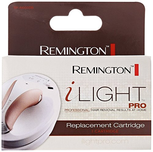 For use with the Remington i-LIGHT Pro Intense Pulsed Light Hair Removal System - Remington SP6000SB I-Light Pro, Professional IPL Hair Removal System, Replacement Cartridge by Remington