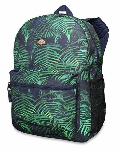 Dickies Student Backpack, - Fern-panel