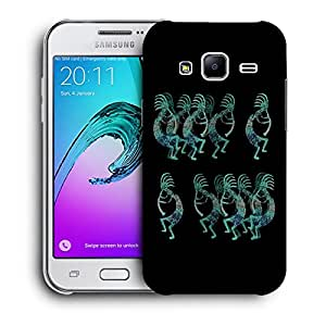 Snoogg Flute Dance Designer Protective Back Case Cover For SAMSUNG GALAXY J2 2016