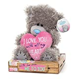 "Me to You SG01W4092 Tatty Teddy Plüschtier ""I Love You with All My Heart"", sitzend, 15,2 cm"