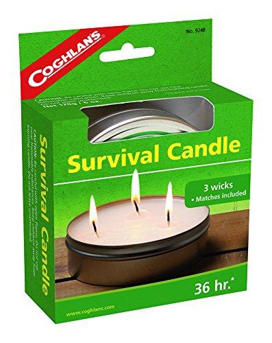 Coghlans Survival Kerze, Herren, Survival Candle, weiß, 10.8cm l x 14cm w x 3.8cm h (Survival Kerze-laterne)