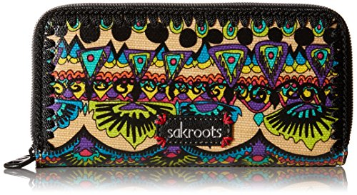 sakroots-artist-circle-double-zip-bifold-wallet-radiant-one-world