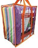 Tapis de jeu Ensemble de carreaux avec bords + Sac de transport par Dryzem pour Bébé Enfants jouer dalles en mousse en EVA souple gym jeu au sol