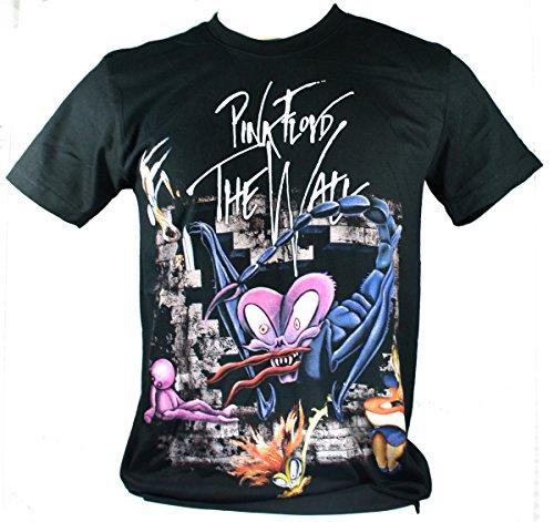 Pink Floyd-Maglietta da uomo nero The Wall Double Extra Large XXL