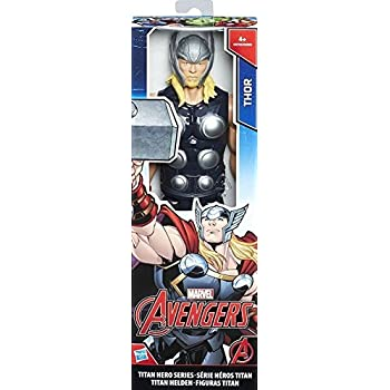 Avengers - Thor Titan Hero (Personaggio 30cm, Action Figure), C0758ES0