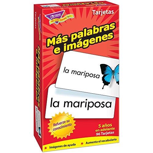 TREND UNTERNEHMEN T-Flash-Karten 53007 MAS PALABRAS E IMAGENES-96/BOX (Trend Flash-karten)