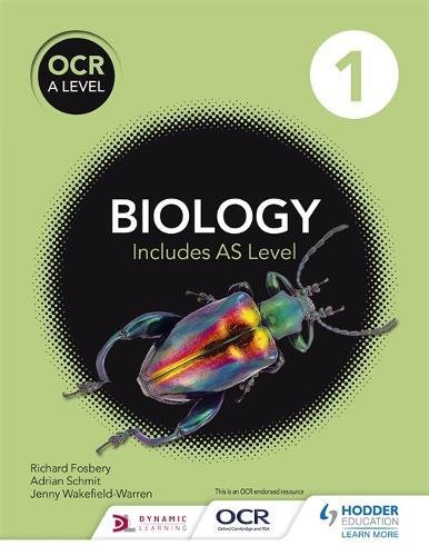 OCR A Level Biology Student Book 1 for sale  Delivered anywhere in UK