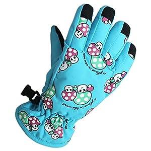 Eastlion 2-5 Jahre Alte Pilze Muster Kinder Skifahren Handschuhe Karikatur Draussen Warme Handschuhe