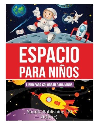 Espacio para niños: Libro para colorear para niños