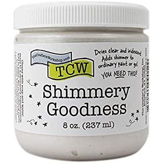 The Crafters Workshop Shimmery goodness 8 oz, Transparent