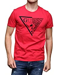 Guess - T Shirt M62i40 - I3z07 G665 Rouge