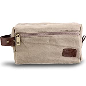 Spruce Shave Club Traveller Brown Canvas Pouch
