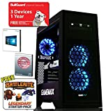 ADMI GTX 1060 GAMING PC: High-End Gaming Desktop Computer: AMD Piledriver FX-8300 8 Core 4.2GHz Turbo CPU / NVIDIA GeForce GTX 1060 3GB GDDR5 4K Graphics Card / 8GB 1600MHz DDR3 RAM / 1TB Hard Drive / 500W PSU Bronze Rated / HD Audio / USB 3.0 / HDMI/4K Ultra HD Support / Game Max Titan Blue LED Gaming Case / DVDRW 24x / Pre-Installed with Windows 10