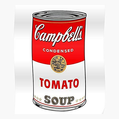 Andy Campbells Soup Warhol Póster regalo Showtime