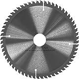 Kreissägeblatt Aluminium Kunststoff NE-Metalle Ø 210mm x 30mm HM 72 Zähne - Diamantschliff - inkl. 4 Reduzierringen.