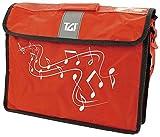 TGI TGMC2R Grande Pochette à musique - Rouge