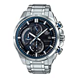 Casio Edifice Analog Black Dial Men's Watch-EX377 (EQS-600D-1A2UDF)