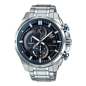 Casio Edifice Analog Black Dial Men's Watch - EX377 (EQS-600D-1A2UDF)