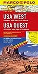 MARCO POLO Kontinentalkarte USA West,...