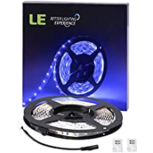 LE Tira LED Azul 5m 300 LED 3528 no impermeable PCB flexible