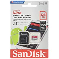 Sandisk Ultra 128GB Class 10 Micro SDXC Card With Adapter 100 MB/s