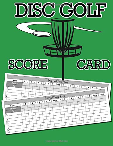 Zoom IMG-2 disc golf score card 100