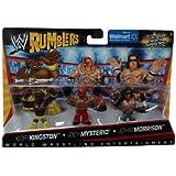 WWE Rumblers V9333 Mini Figure Set - Kofi Kingston / Rey Mysterio / John Morrison
