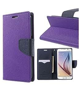 Winchip Mercury Flip Cover For Samsung Galaxy Tab 3 GT-P3200 - Purple