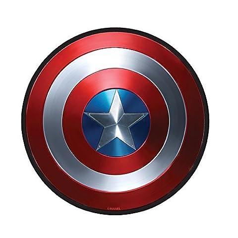 Marvel Comics - Mausmatte Mauspad - Captain America - Logo