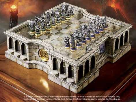 Signore Degli Anelli - Collector's Chess Set