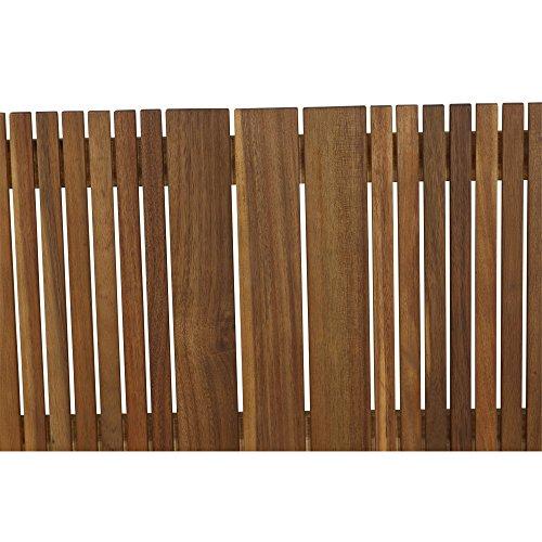 Siena Garden 2er Bank Falun, 59x122x90cm, Akazienholz, geölt in natur, FSC 100% - 8