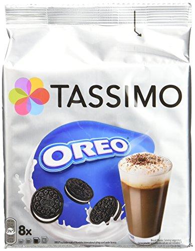 TASSIMO Chocolat Chaud Oreo 16 Tdisc - Lot de 5 (80 Tdisc)