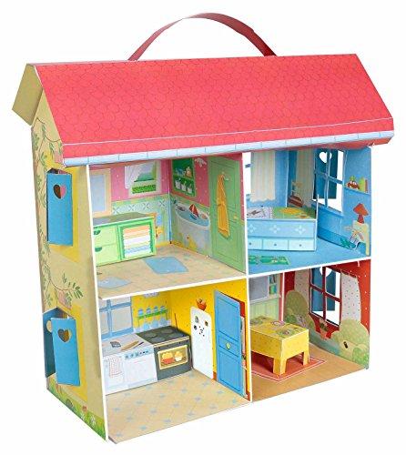 La maison à monter de Petit Ours Brun et ses figurines
