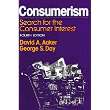 [(Consumerism : Search for the Consumer Interest)] [Edited by David A. Aaker] published on (February, 1982)
