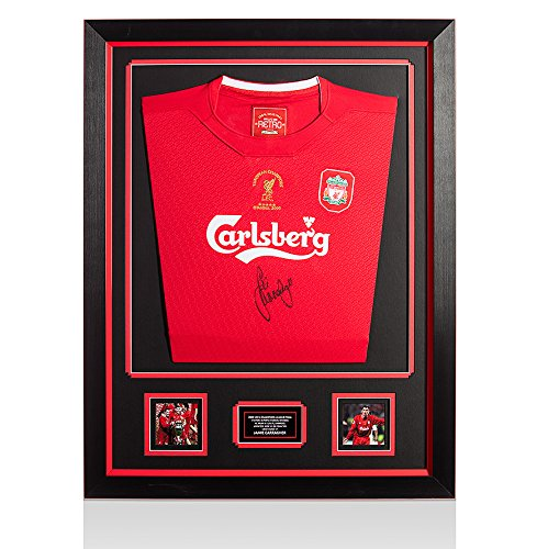 Framed-Jamie-Carragher-Signed-Liverpool-Shirt-Champions-League-Final-Istanbul-2005