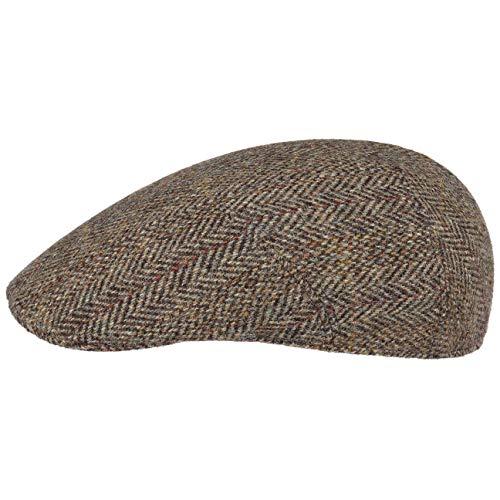 Stetson Classic Harris Tweed Flatcap Schirmmütze Wollcap Schiebermütze...