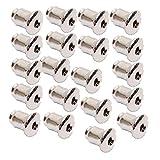 50 Stück Ohrmutter Ohrhaken Stopper Ohrring Verschluß Stopper Silber