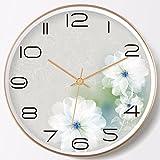 QMPZG-wanduhr wanduhr Fantasy - Pastoralen Einfach Ruhig Kreativ - Kalender, Uhr Moderne Wohn - Und Schlafzimmer, Esszimmer Uhr Uhr, Quarz - Uhr,B