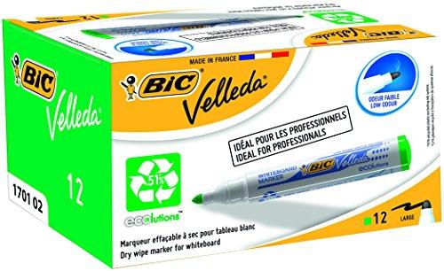 bic-velleda-marqueur-effacable-a-sec-pour-tableau-blanc-pointe-ogive-encre-a-base-dalcool-vert-lot-d