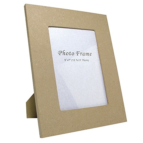 RAYHER 62269000, MDF Fotorahmen FSC Mix Credit, 12 x 17 cm Innenmaß