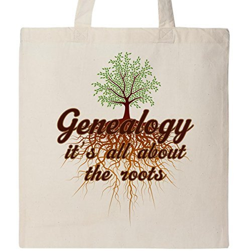 inktastic GENEALOGIE All About Wurzeln Tasche Natural by inktastic