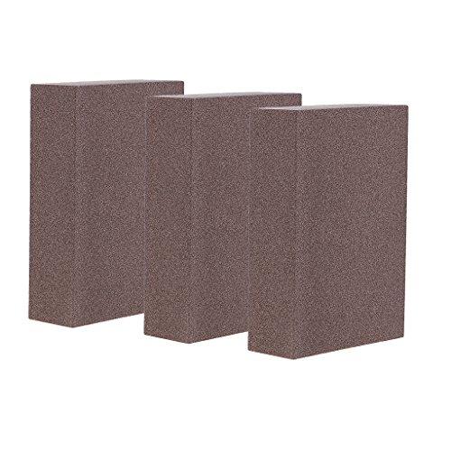 D DOLITY 3 Stück 5er Schleifschwamm Schleifpapier zweiseitig Schleifblock - 400-600 Grit