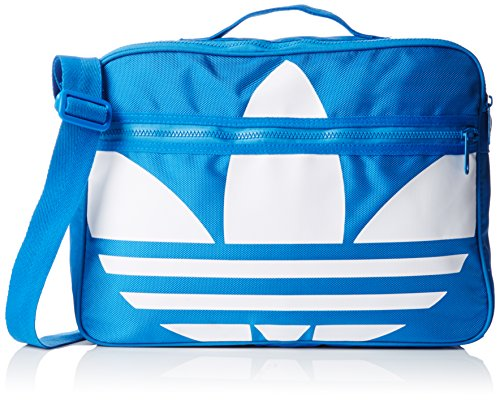 Adidas Airliner Trefoil Shoulder Bag - Bluebird/White