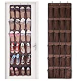 Best Shoe Rack Organizer For Closets - 24 Large Mesh Pockets Over the Door Shoe Review