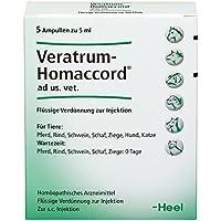 veratrum homaccord ampullen vet. 5 St preisvergleich bei billige-tabletten.eu