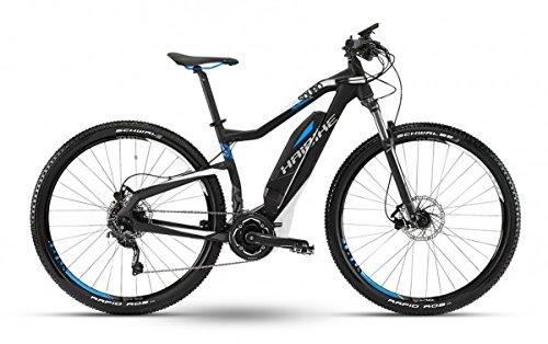 Haibike E-Bike SDURO HardSeven SL 27.5 Schwarz-Weiss-Cyan