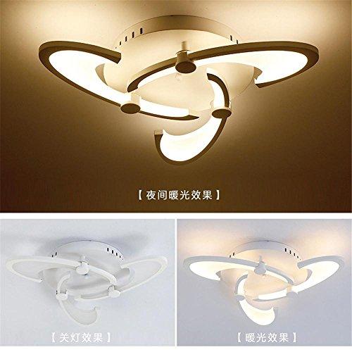 Lampadario personalizzato LED Illuminazione salotto Luce fiorita moderna Lampada da soffitto moderna e romantica , 3 head