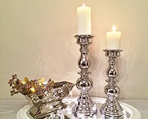 Kerzenhalter Kerzenleuchter Leuchter Kerzen Rondell Deko Lampe Objekt eckig